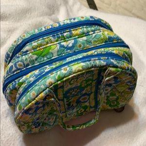 3compartment make up bag